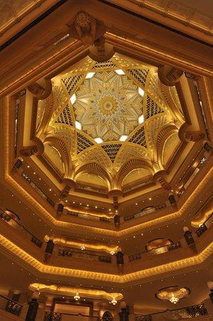 Emirates Palace Hotel: エミレーツパレスホテル ホール