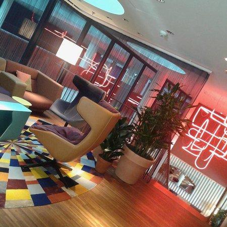 25hours Hotel Zurich West: 1st floor!!
