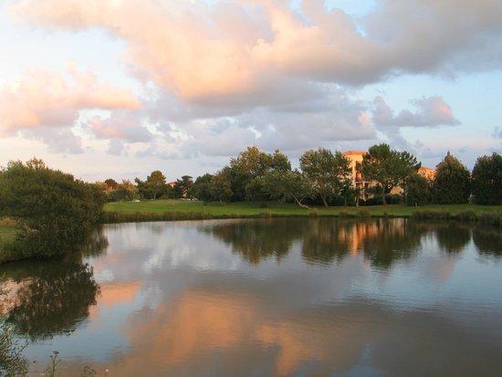 Pierre & Vacances Resort Port-Bourgenay: Vue du balcon