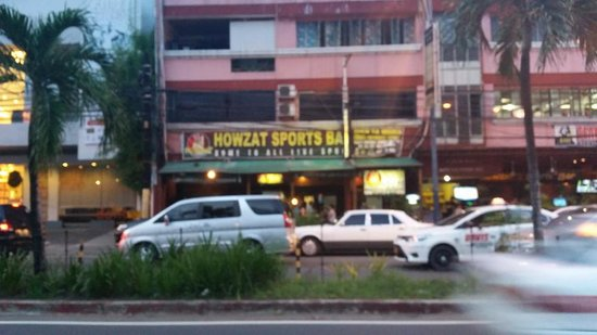 Howzat Sports Bar: Outside side view
