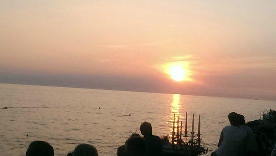 Valentino Cocktail & Champagene Bar: Sonnenuntergang