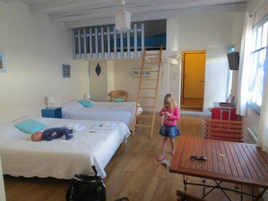 Hotel Bamboo: Studio de l'hôtel