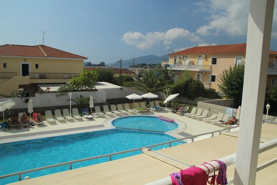 Esperia Hotel: view from the balcony