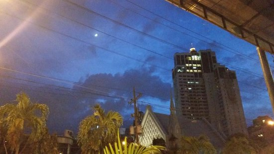 Howzat Sports Bar: View from Restaurant of Makati