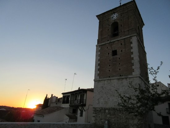Sunset in Chinchon