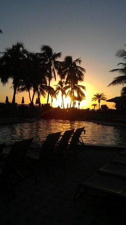 Hilton Marco Island Beach Resort: Sunset