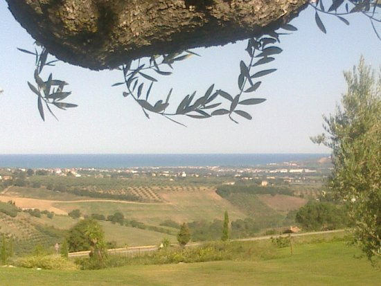 Vitaria Country Residences: vista verso Roseto