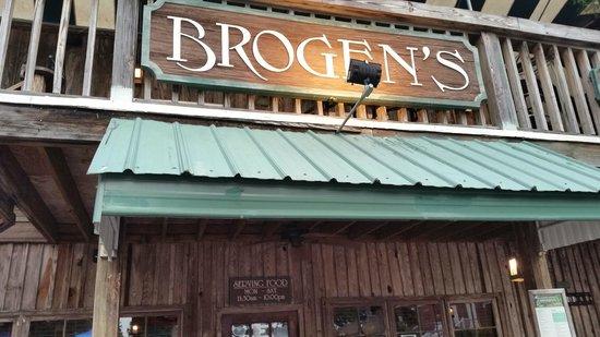 Brogen's: Front side