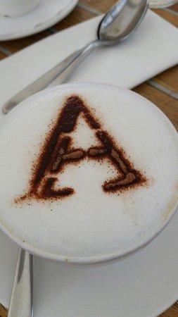 Amarone: The excellent cappuccino :)