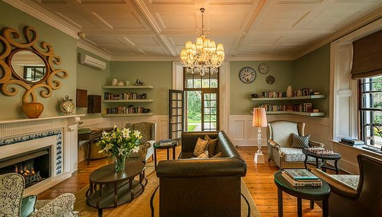 The Manor House at Fancourt: The Manor House Library