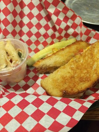 The Brick: grilled cheese with cole slaw - below average