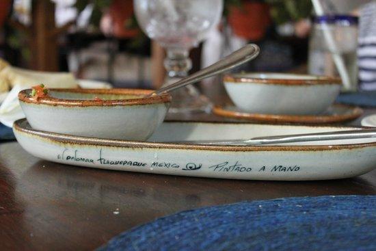Pancho's Backyard : Salsa dish