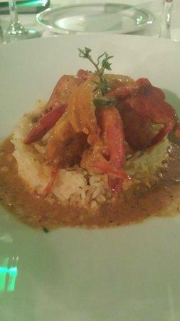 Iberostar Grand Hotel Rose Hall : Curry Shrimp