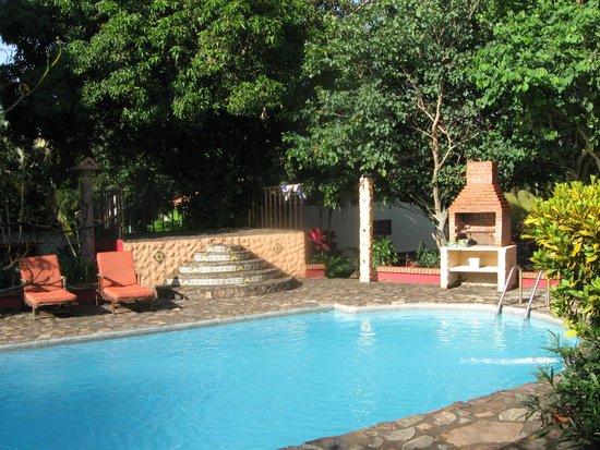 Dos Palmas Country Inn La Garita: zwembad bij rancho
