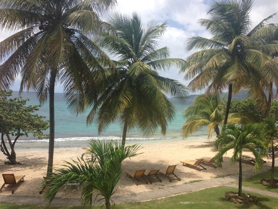 Grenadian by Rex Resorts : View from my room balcony :)