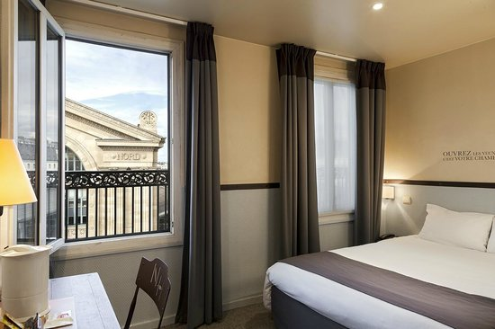 Kyriad paris 10 gare du nord updated 2017 prices for Decor hotel du nord