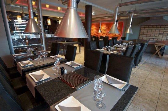 Ans, เบลเยียม: Le restaurant