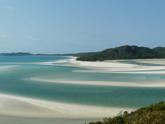 view of Whitehaven beach