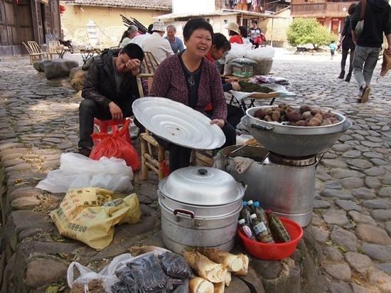 Ta'xia Village : 塔下村のおばさん