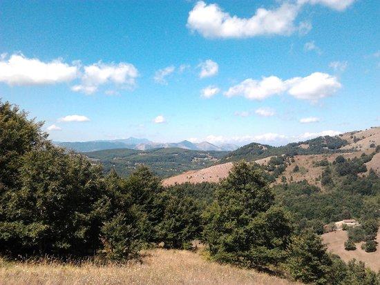 Sasso di Castalda, Italy: panorama