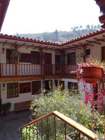 Hotel Rumi Punku: Courtyard vew