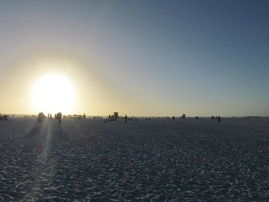 Siesta Beach : Sunset
