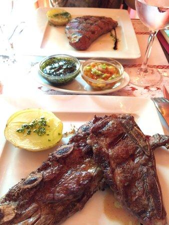 Pampero: Carne deliciosa