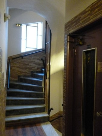 Hotel Argo Anita : Nice stairway and elevator