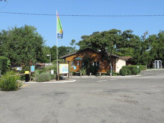 Camping les Rives du Lac: Accueil du camping