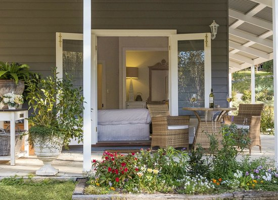 Abelia House: Garden Room Veranda