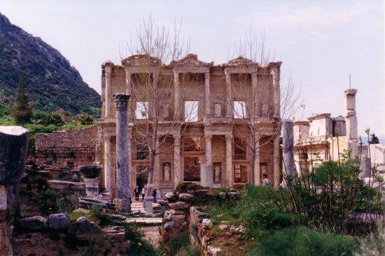 Vieille ville d'Éphèse : Biblioteca de Celso