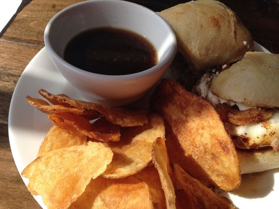 Clam Lake Beer Company : French dip