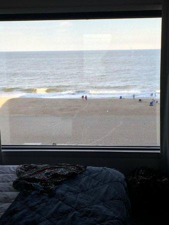 Marigot Beach Suites: View from bedroom