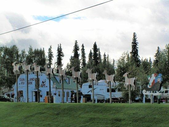 Pubblicita Picture Of Santa Claus House North Pole
