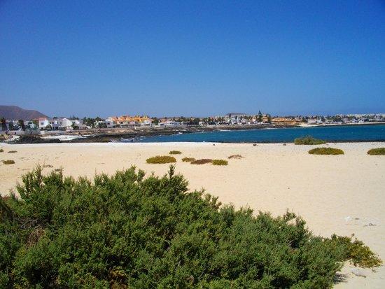 Las Marismas de Corralejo: Quieter end of town beach