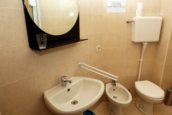 B&B Hotel Bicocca: Bagno