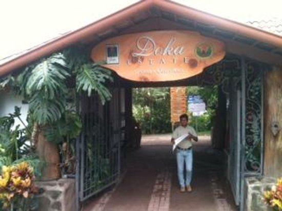 Doka Estate Coffee Tour: Entrance
