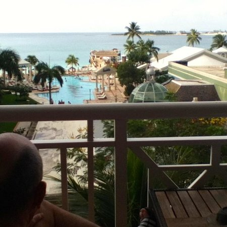Sandals Royal Bahamian Spa Resort & Offshore Island : View from Room 1522