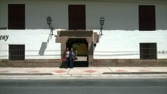 Hotel La Casona De Yucay Valle Sagrado: Vista Frontal de la fachada