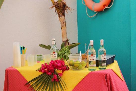La Casita Hotel: Mojito party
