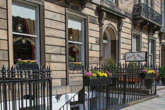 Edinburgh Thistle Hotel: HOTEL FRONT