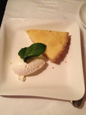 Le Colonial: Lemon Tart