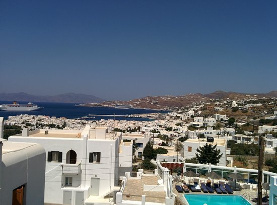 Nazos Hotel: Room View at morning