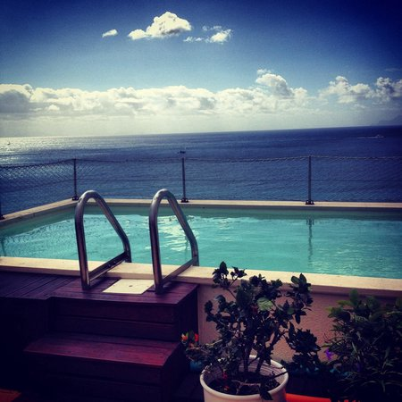 Sapphire Beach Club Resort : Private swimmingpool in our penthouse!