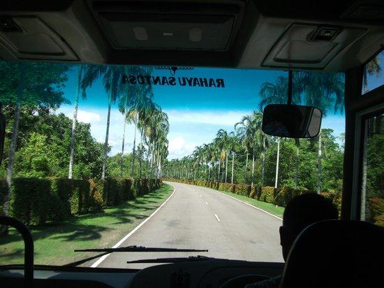 Nirwana Gardens - Nirwana Beach Club: On the way to Nirwana from the ferry port from SG