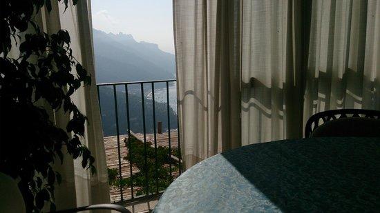 Hotel Parsifal Antico Convento del 1288: la salle du petit déjeuner vue panoramique superbe