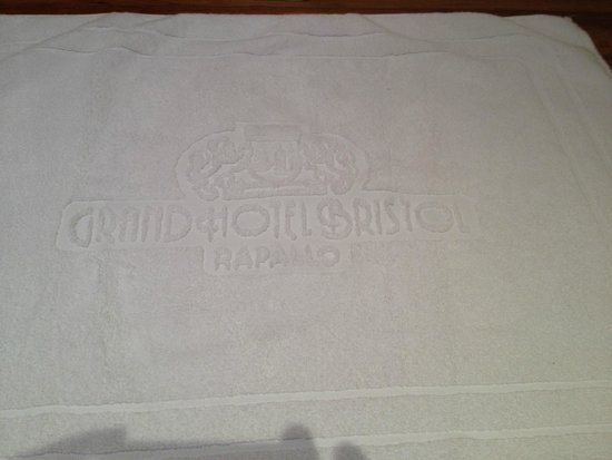 Grand Hotel Bristol Resort & Spa : Bath mat