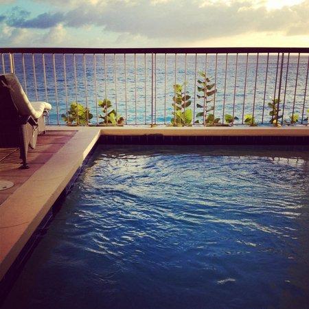 Sapphire Beach Club Resort : Villa's view with private swimmingpool!!!'
