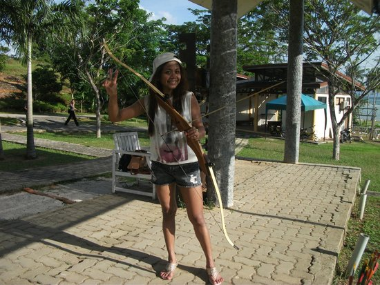 Nirwana Gardens - Nirwana Beach Club: Archery!