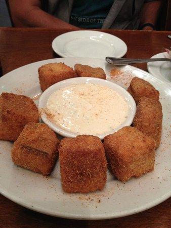 Heaven on Seven: Jalapeno corn bread poppers